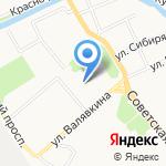 Пантера на карте Архангельска