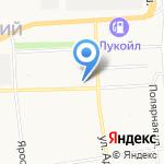 Капелька на карте Архангельска