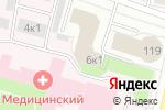 Схема проезда до компании Северный Ветер в Архангельске