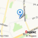Ла Багатель на карте Архангельска