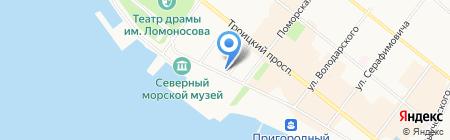Свято-Никольский Храм на карте Архангельска