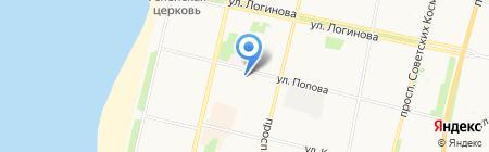 Банкомат Финсервис Банк на карте Архангельска