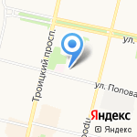Архпромкомплект на карте Архангельска