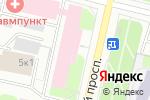 Схема проезда до компании Росгосстрах-Архангельск-Медицина в Архангельске
