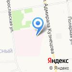 Архангельская областная клиническая станция скорой медицинской помощи на карте Архангельска