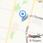 Pit-Line на карте Архангельска