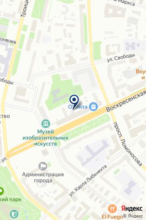 Sotel на карте Архангельска