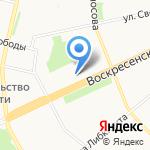 Око+ на карте Архангельска