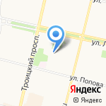 Семь-Восемь на карте Архангельска