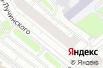 Схема проезда до компании АВФ-книга в Архангельске