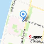 Строй Лидер на карте Архангельска