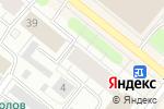 Схема проезда до компании Кристальный мир в Архангельске