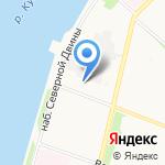 Геоизыскания на карте Архангельска