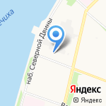 ДК Север на карте Архангельска