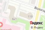 Схема проезда до компании Universal в Архангельске