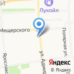 Любимая на карте Архангельска