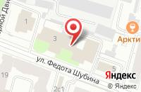 Схема проезда до компании Лес-Ком Сервис в Архангельске