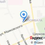 Магазин дисков на карте Архангельска