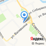 Винегрет на карте Архангельска