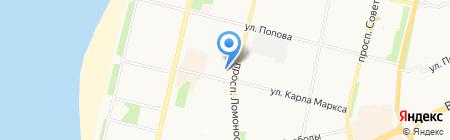 Дент-Мастер на карте Архангельска