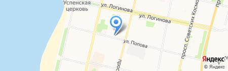 Опора на карте Архангельска