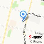 Охрана на карте Архангельска