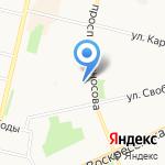 Мастерская по ремонту обуви и кожгалантереи на карте Архангельска