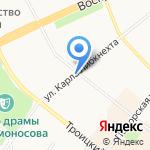 ЮристПоможет на карте Архангельска
