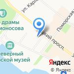 ALP на карте Архангельска
