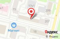 Схема проезда до компании Логинова 53 в Архангельске