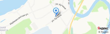 Меркурий на карте Архангельска