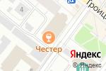 Схема проезда до компании Chester Pub в Архангельске