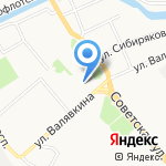 Карандашик на карте Архангельска