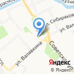 Бильярдный клуб-бар на карте Архангельска