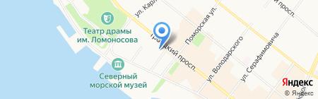 Центр белья на карте Архангельска