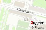 Схема проезда до компании Все для домашнего уюта в Архангельске