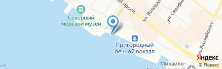 Проект 29 на карте Архангельска