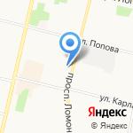 Магазин ивановского текстиля на карте Архангельска