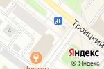 Схема проезда до компании Банкомат, Всероссийский банк развития регионов в Архангельске