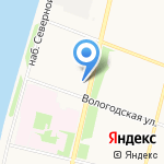Лекарня на карте Архангельска