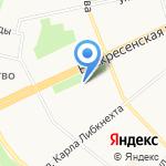 Адвокатский кабинет Семаковой О.С. на карте Архангельска