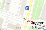 Схема проезда до компании Лекарня в Архангельске