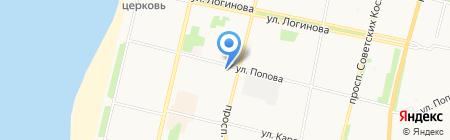 Флора Дизайн на карте Архангельска