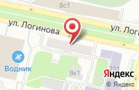 Схема проезда до компании Логинова 8, ТСН в Медведево