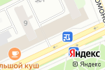 Схема проезда до компании МТС в Архангельске