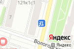 Схема проезда до компании Ювелир в Архангельске
