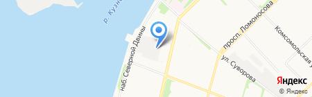 Эр-групп на карте Архангельска