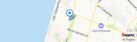 Банкомат БАНК СГБ на карте Архангельска