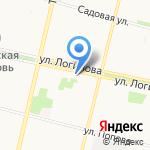 Ах! Цветы на карте Архангельска