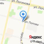 Общероссийская общественная организация семей погибших защитников Отечества на карте Архангельска